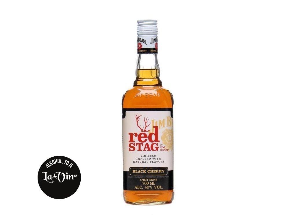 JIM BEAM RED STAG BLACK CHERRY 40%