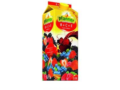 PFANNER B+C+E LESNÍ PLODY 30% 2L