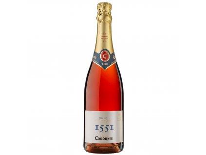 Sekt Cava Codorniu rosé 1551 0,75l