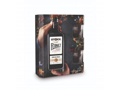 Fernet Stock 0,5l dárkové balení