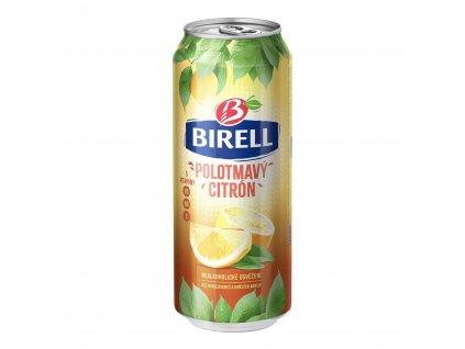 Birell polotmavý citron plech 0,5l