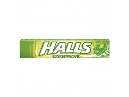 Bonbony Halls Fresh limetka 33,5g