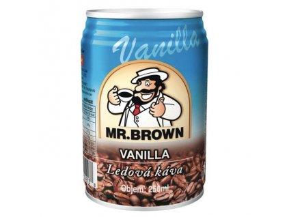 Mr. Brown coffee vanilla káva 0,25 l
