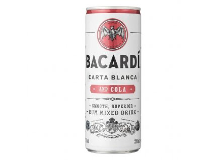 Bacardi Superior & COLA 0,25 l
