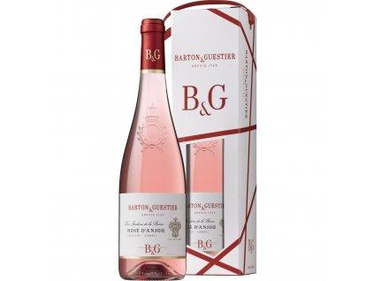 B&G Rosé d´Anjou AOC, dárkové balení 0,75l
