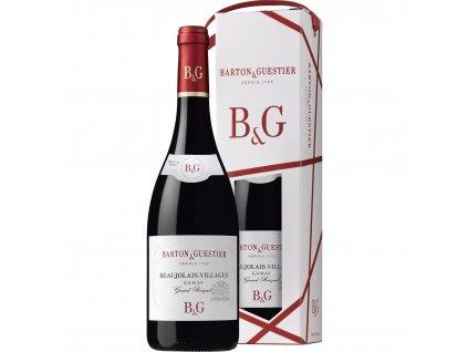 B&G Beaujolais-Villages AOC, dárkové balení 0,75l