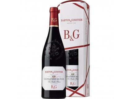 B&G Chateauneuf-du-Pape AOC, dárkové balení 0,75l