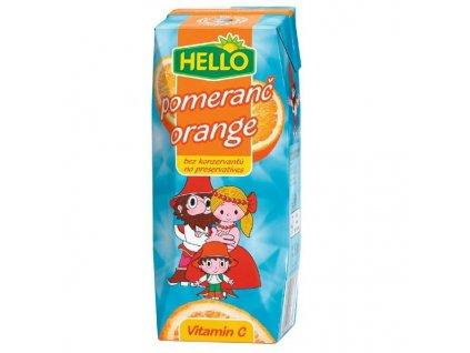 Hello pomeranč Tetra Prisma 0,25 l