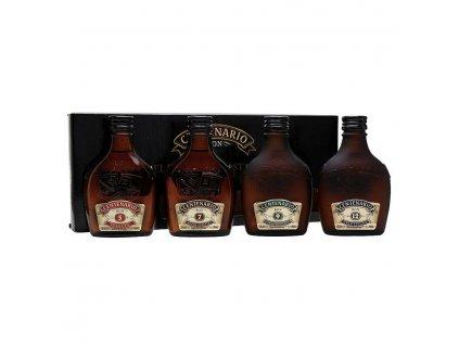 Rum Centenario sada 5yo+7yo+9yo+12y 4 x 0,2 l