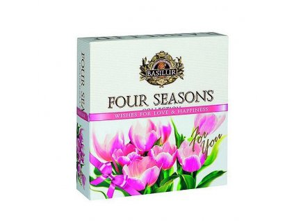 Basilur Four Seasons For You Pink Assorted 40g