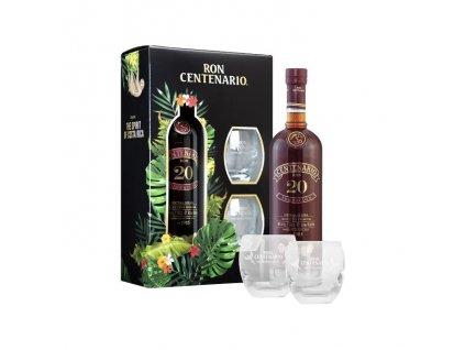 Centenário Fundacion 20y 0,7l + 2 skleničky