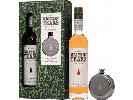 Writers Tears Copper Pot + placatka 0,7l
