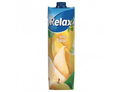 Relax jablko banán 1l