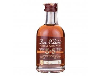 Rum Dos Maderas PX 5+5 Mini 0,05l