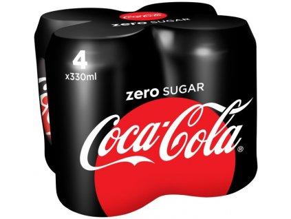 Coca-Cola Zero 4x 0,33l plech