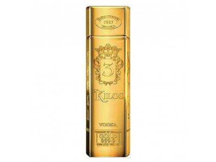 Vodka 3 Kilos Gold 999,9 1l