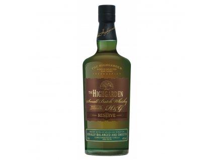 Whisky Highgarden reserve 7y 0,5l