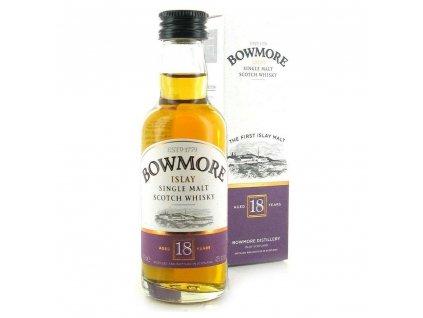 Malt Bowmore 18yo mini 0,05l