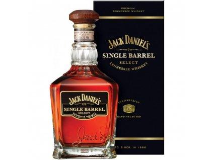 Jack Daniel's Single Barrel dárkové balení 0,7l