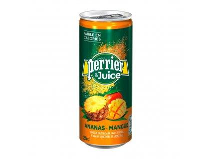 Perrier & Juice 0,25l plech – Ananas & Mango
