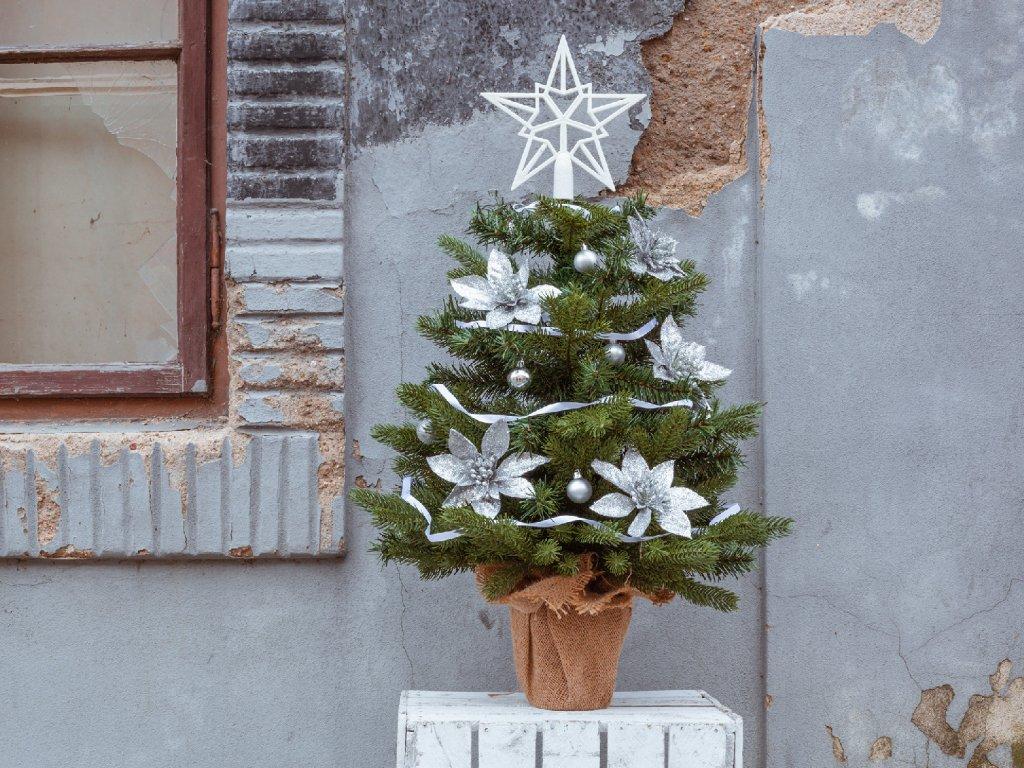 Vánoční stromek ozdobený KOMETA 75 cm