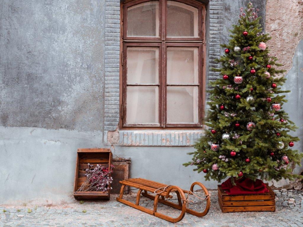 Vánoční stromek VENKOVSKÁ IDYLKA