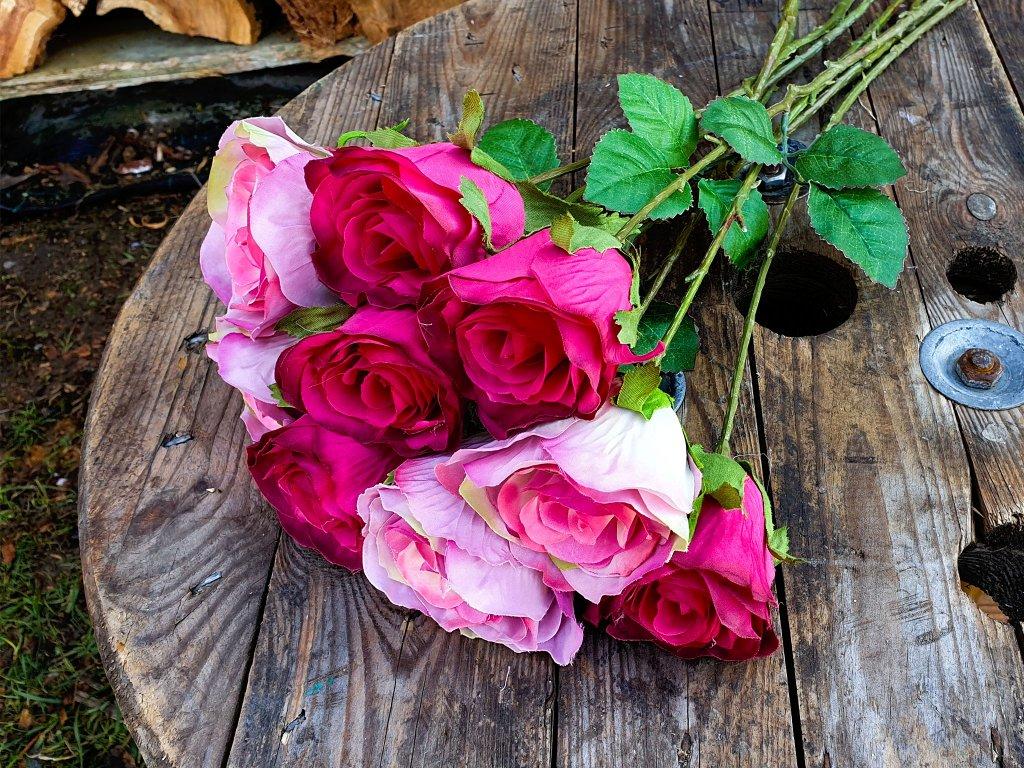 Květiny růže