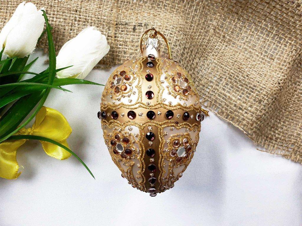Fabergého vejce 10 cm