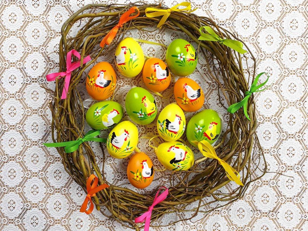 Velikonoční kraslice 12 ks