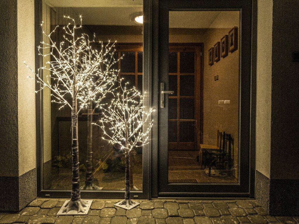 LED strom světelný venkovní 120 cm
