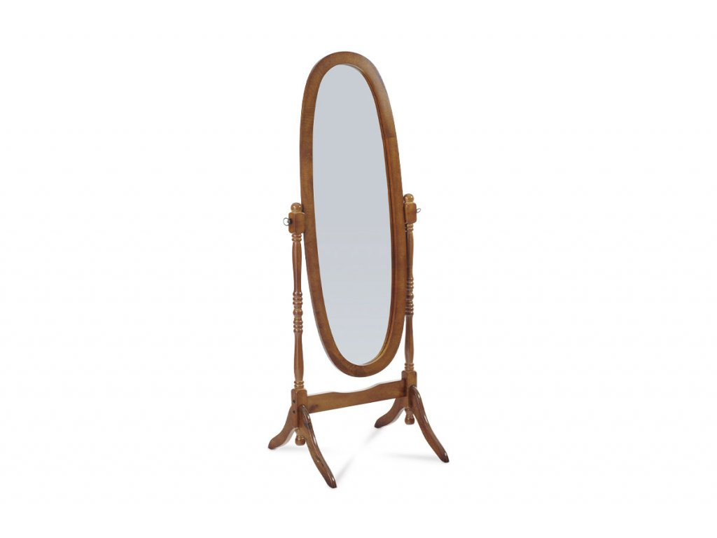 Zrcadlo ořechový dekor 151 cm