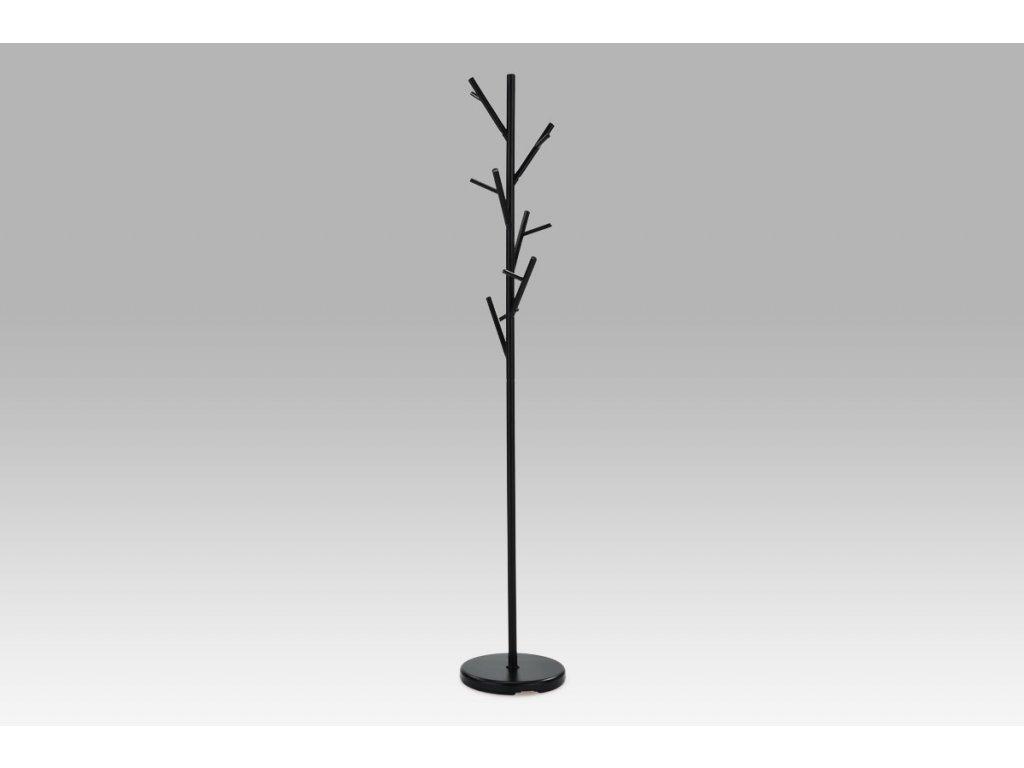 Věšák černý 170 cm