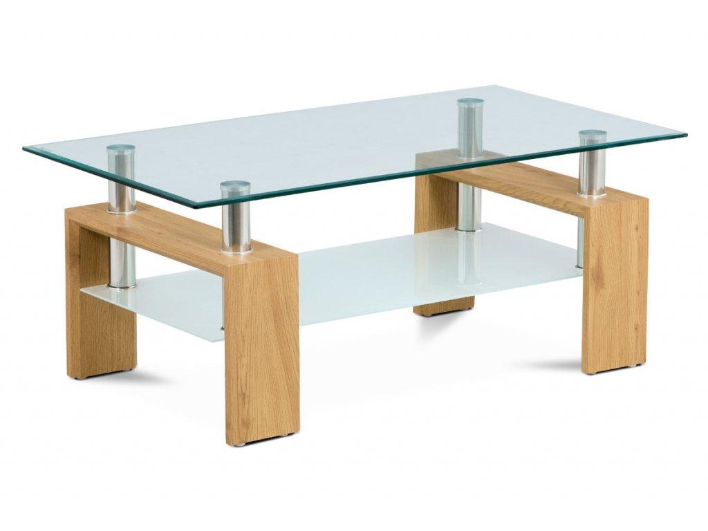 Konferenční stolek divoký dub 110 x 60 x 45 cm
