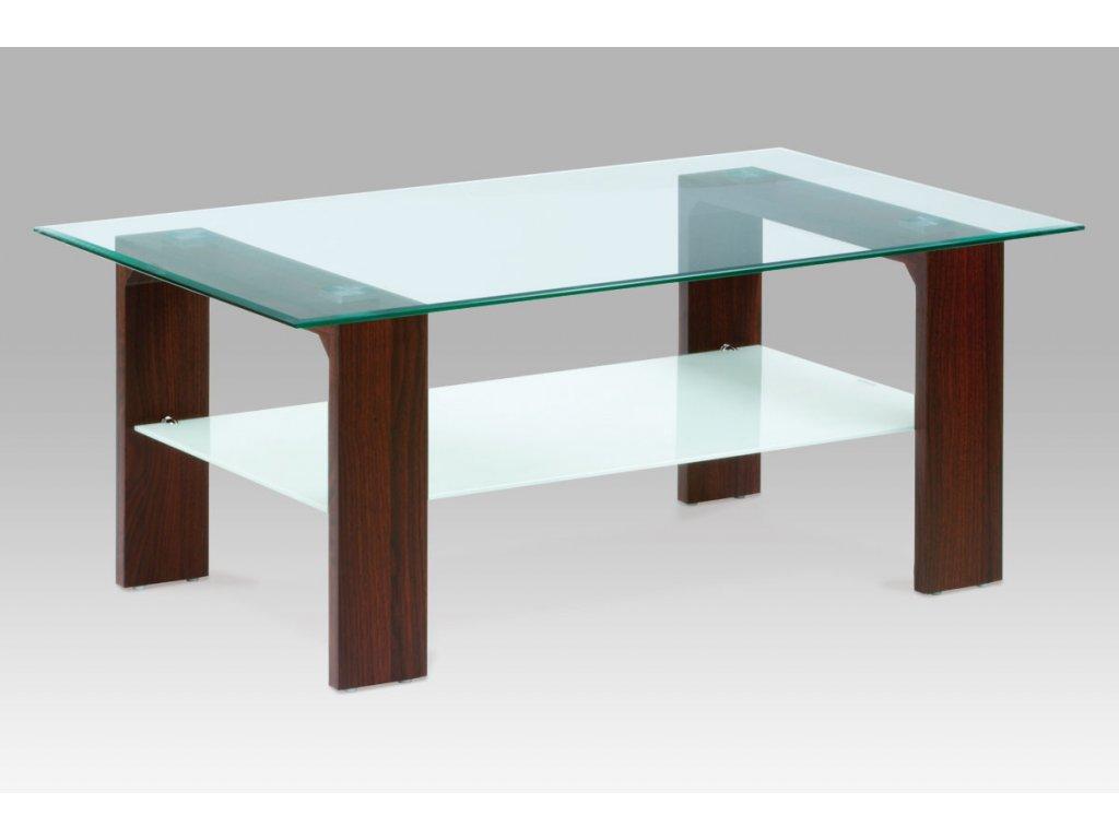Konferenční stolek ořech 110 x 65 x 45 cm