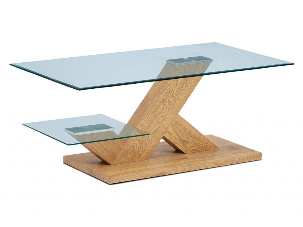 Konferenční stolek divoký dub 110 x 60 x 46 cm