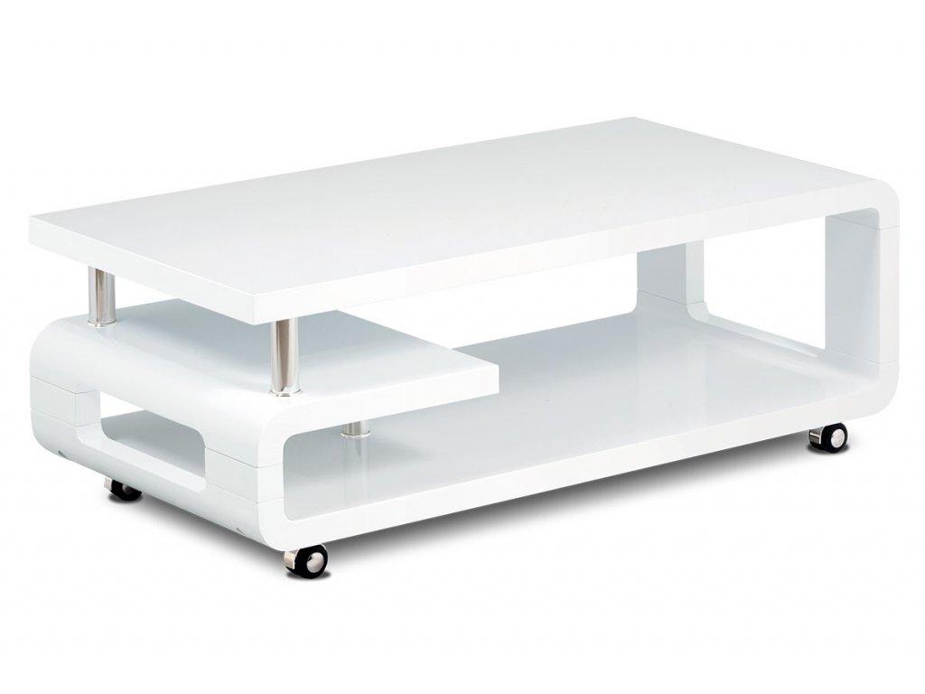 Konferenční stolek bílý 115 x 60 x 43 cm