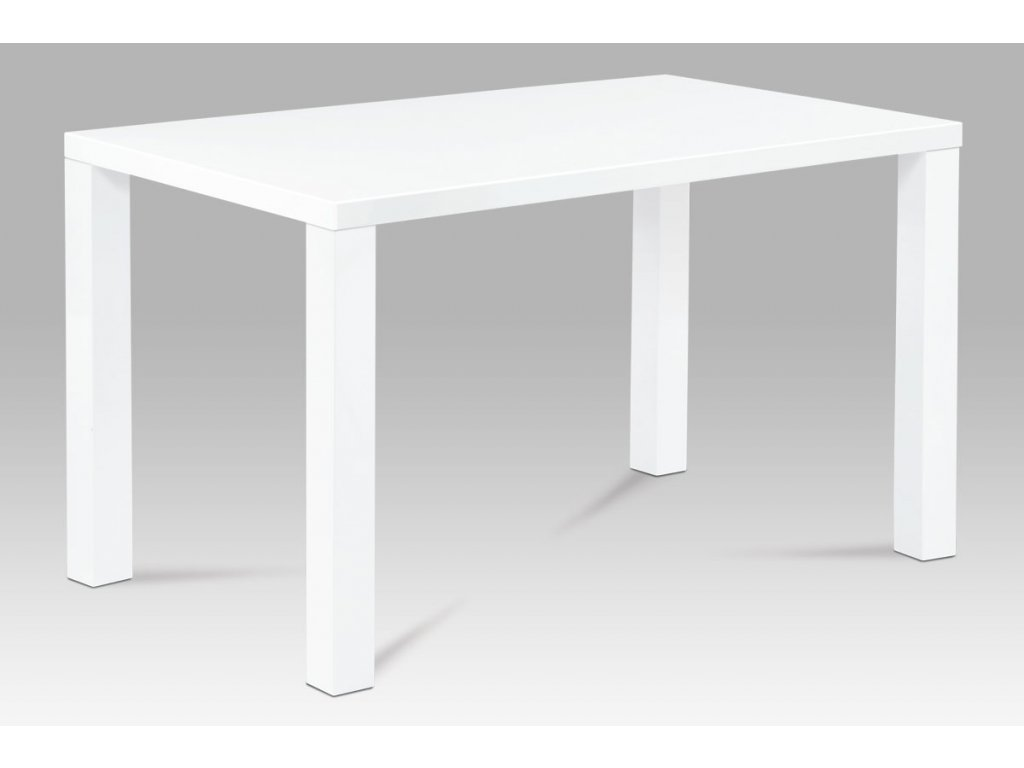 Jídelní stůl bílý 120 x 80 x 76 cm