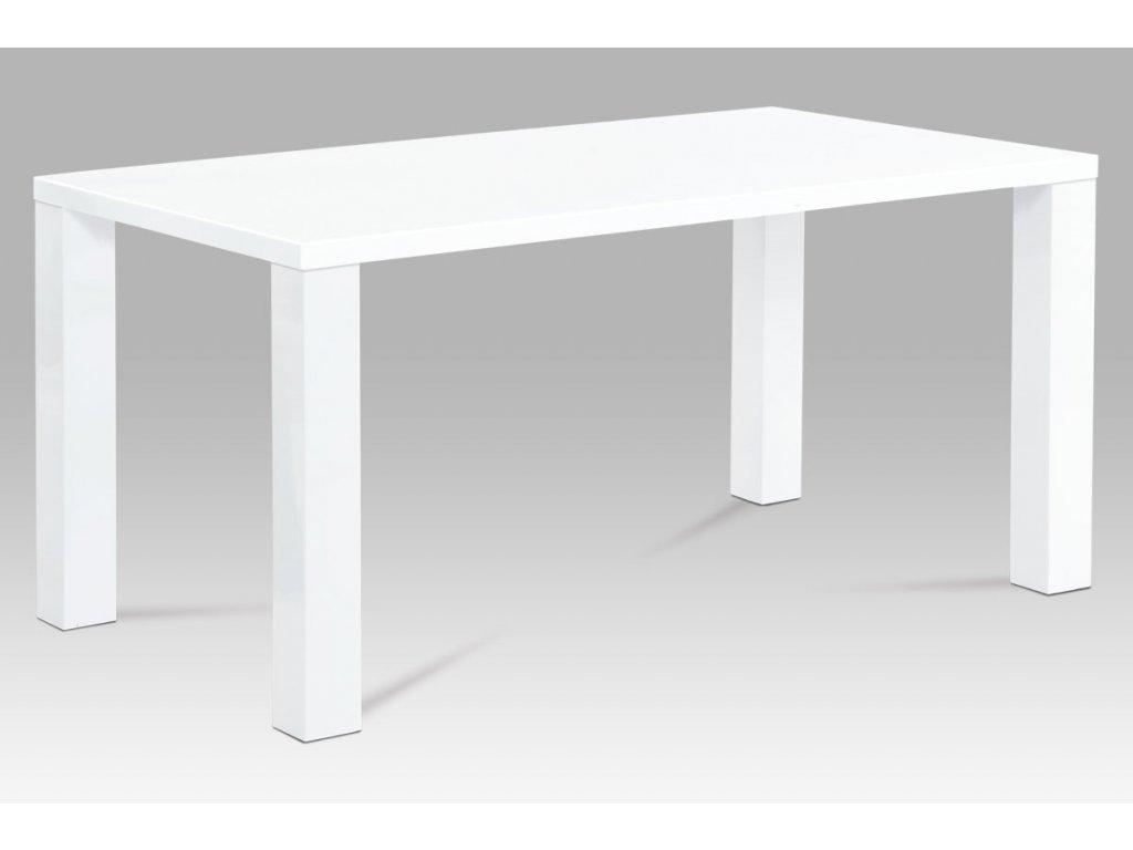 Jídelní stůl bílý 160 x 90 x 76 cm