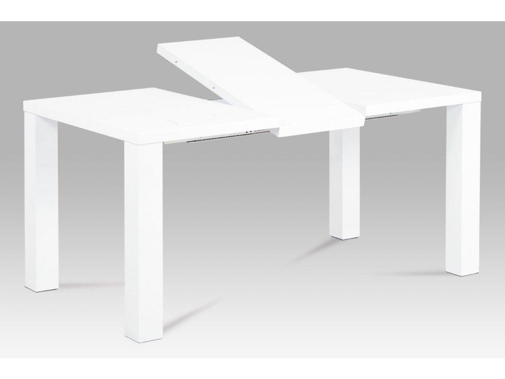 Jídelní stůl rozkládací bílý 120 - 160 x 90 cm