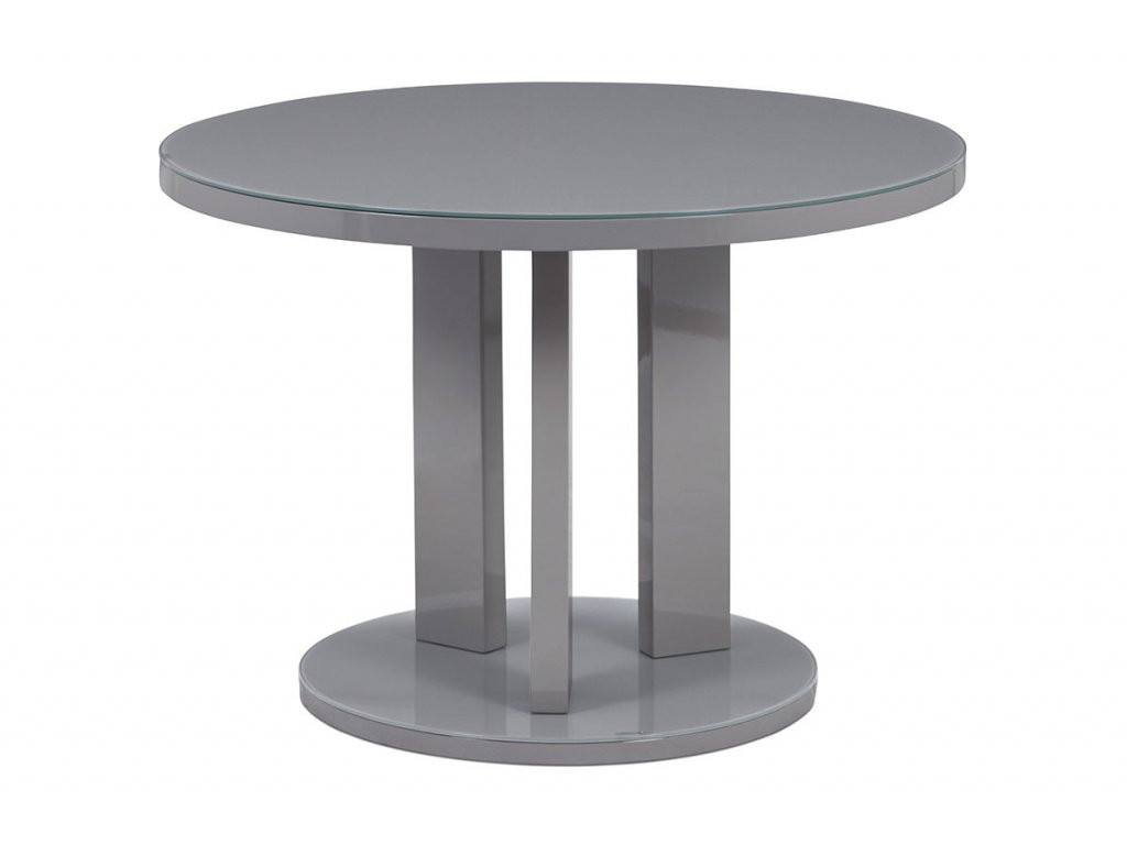 Jídelní stůl šedý 108 x 77 cm