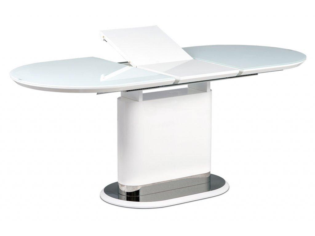 Jídelní stůl rozkládací bílý 140 - 180 x 80 cm