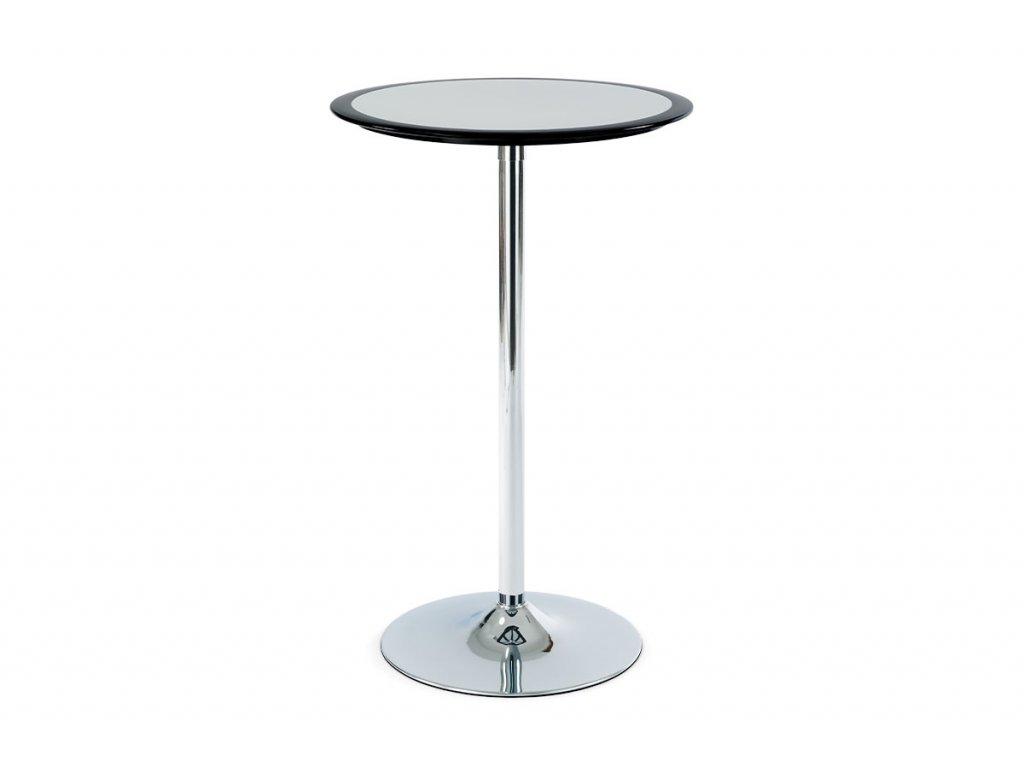 Barový stůl černý 60 x 105 cm