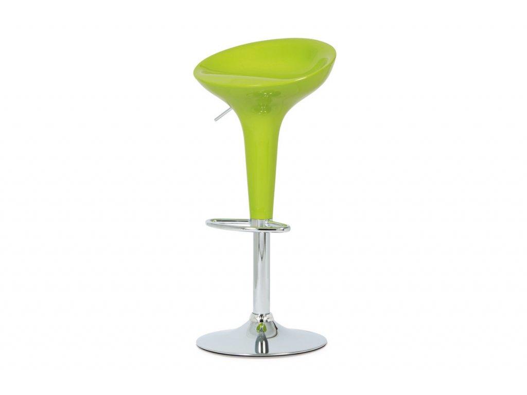 Barová židle limetková 58 - 80 cm