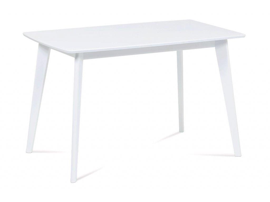 Jídelní stůl bílý 120 x 75 cm