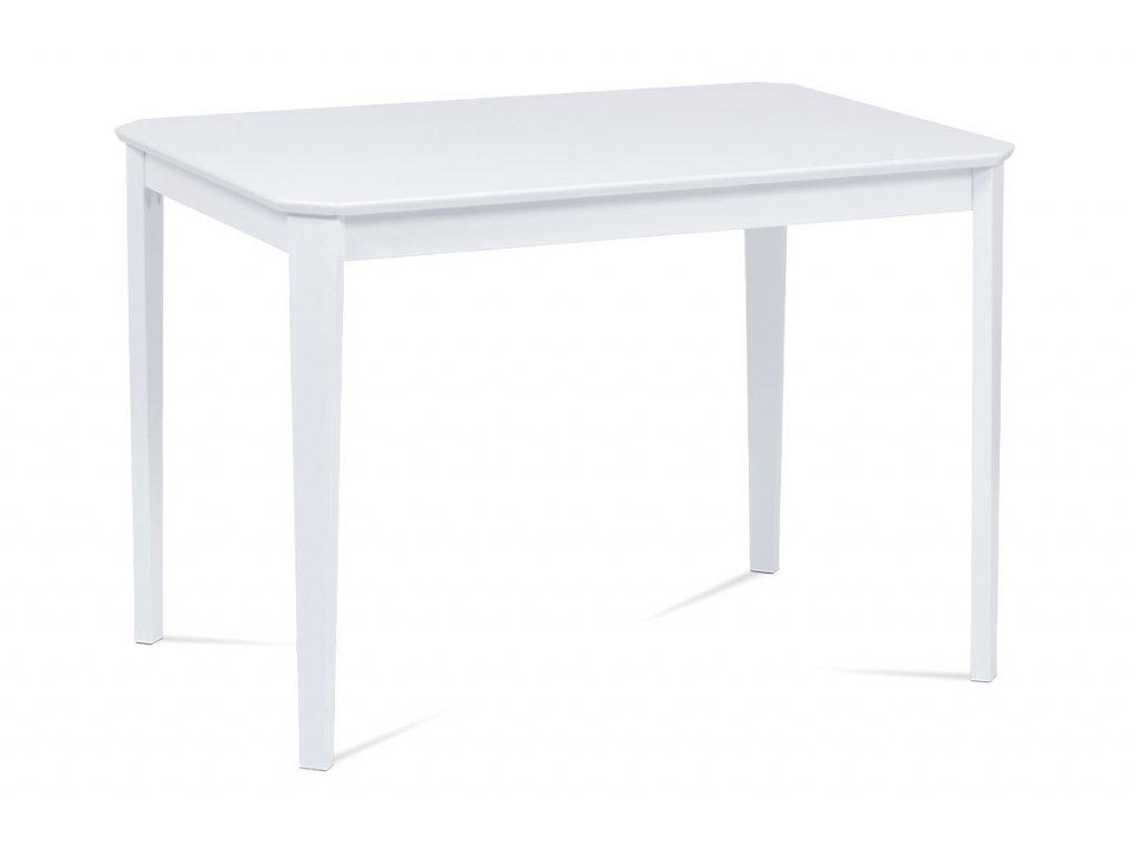 Jídelní stůl bílý 110 x 75 cm