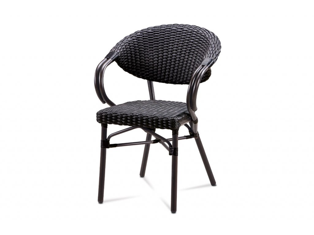 Zahradní židle černá