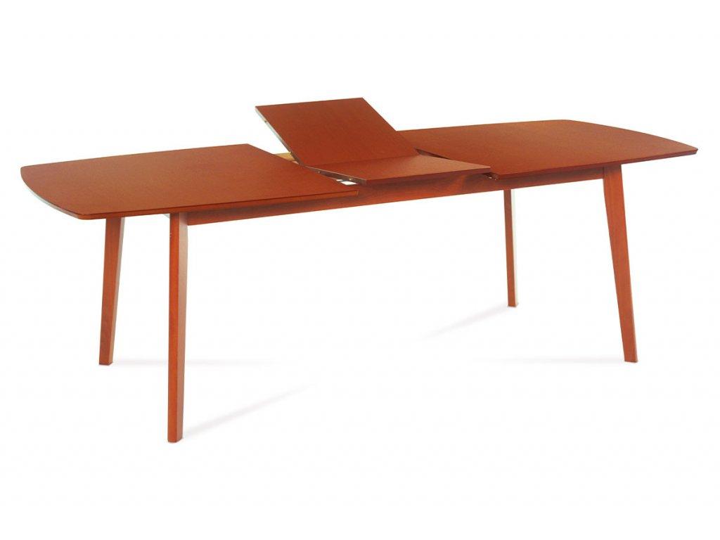 Jídelní stůl rozkládací třešeň 180 - 224 x 100 cm