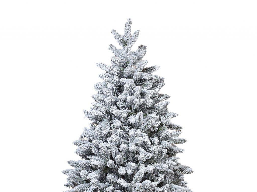 Vánoční stromek zasněžený DELUXE Viola 210 cm