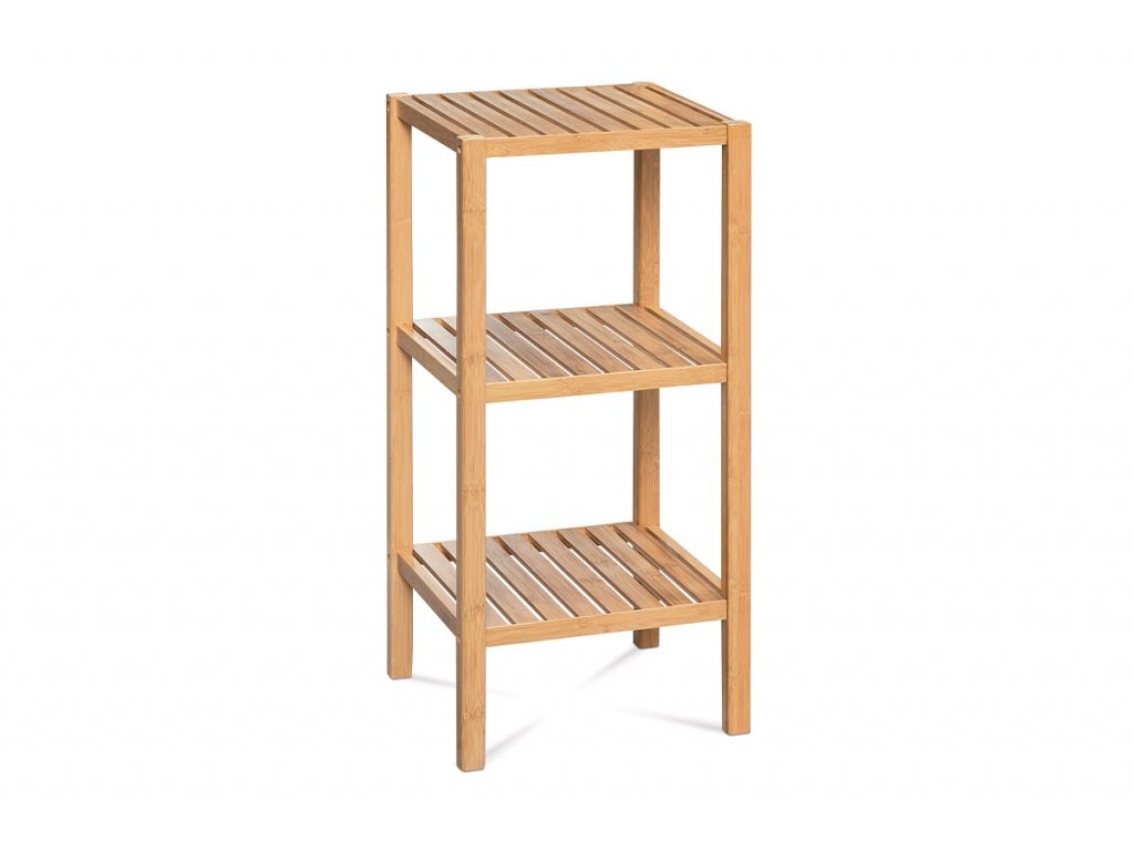 Regál bambusový se 3 policemi