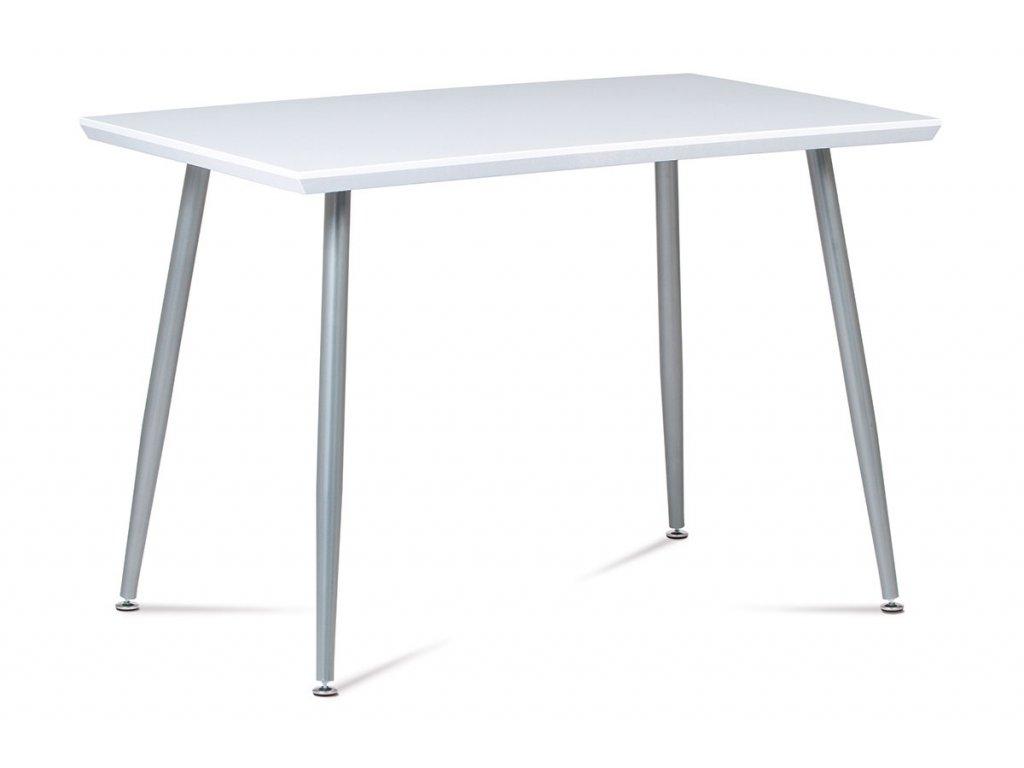 Jídelní stůl bílý 110 x 70 cm